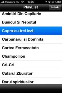 Cartea Fermecata - Playlist