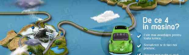 4inmasina.ro - Un nou serviciu de car sharing!