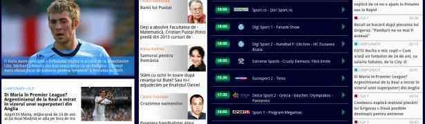 Gazeta Sporturilor a dezvoltat o nouă aplicaţie, disponibilă nu doar pentru iPad, ci şi pentru tabletele care rulează pe Android