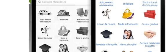 Mercador.ro si-a lansat aplicatia pentru dispozitive cu Android si iOS