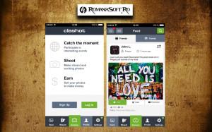 Cu aplicatia Clashot poti face bani daca iti place sa faci poze cu telefonul