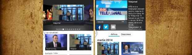 Urmareste live posturile TVR pe smartphone sau tableta