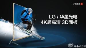 MI TV 2 este cel mai accesibil televizor 3D 4K