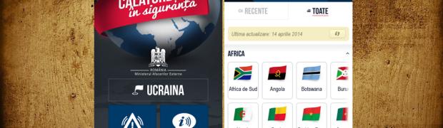 """Aplicația """"Călătorește în siguranță"""" este destinată cetățenilor români care călătoresc în străinătate"""