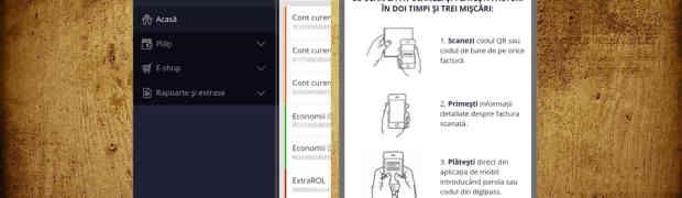 Aplicatia Homebank de la ING primeste functionalitati noi odata cu noua interfata
