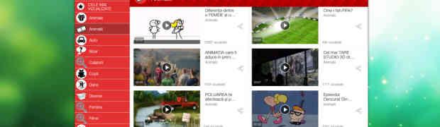 Te distrezi pe smartphone și tabletă vizionând clipuri video pe Videomix